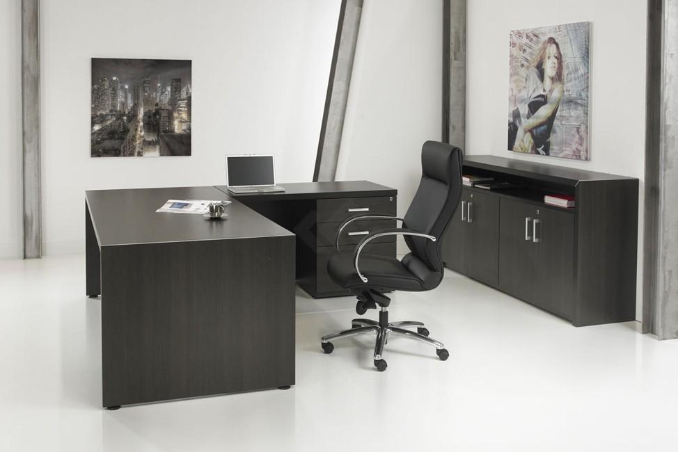 L bureau manage it 210x210cm ladeblok bestellen for Ladeblok bureau
