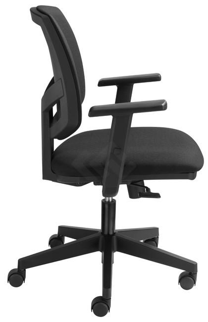 Bureaustoel Laminaat Wielen.Bureaustoelen Model 819 Op Verrijdbare Wielen Kantoormeubelland Nl
