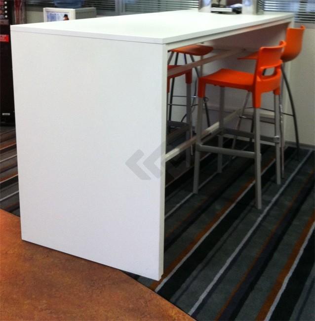 Voorkeur Bartafel 220x80, hoogte 110cm bestellen • Kantoormeubelland.nl @DY93