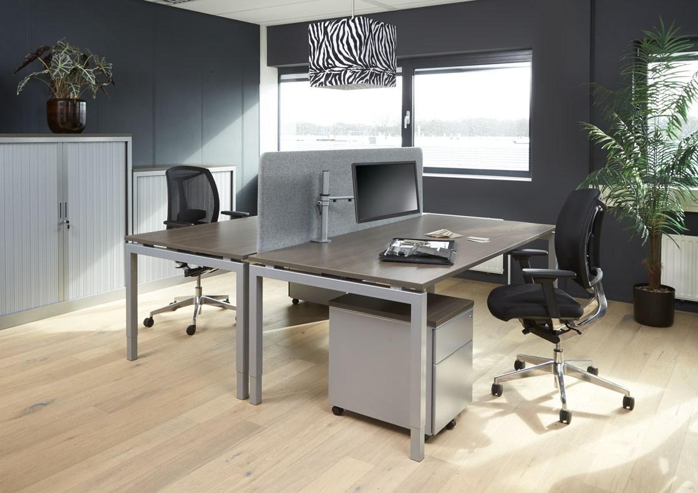 Bureau En Vergadertafel.Bureau Vergadertafel Q Bic 200x100cm