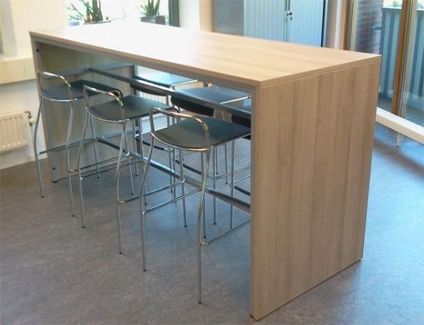 Bartafel 220x80 hoogte 110cm bestellen for Table hauteur 110 cm
